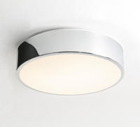 ASTRO Mallon Plus 0591 round bathroom ceiling light 1 x 32W T9 lamp IP44 Chrome