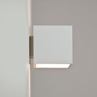 Astro Pienza 0917 dimmable wall light 1 x 60W E14 lamp IP20 white plaster finish