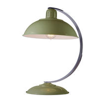 Elstead Franklin Desk Lamp Green 1 x 60W E27 220-240v 50hz Class I