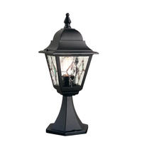 Elstead Norfolk Pedestal Lantern 1 x 100W E27 220-240v 50hz IP43 Class I