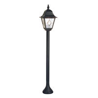 Elstead Norfolk Pillar Lantern 1 x 100W E27 220-240v 50hz IP43 Class I