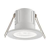 Saxby ShieldECO IP65 fire rated 4W 4000K LED dimmable bathroom downlight white