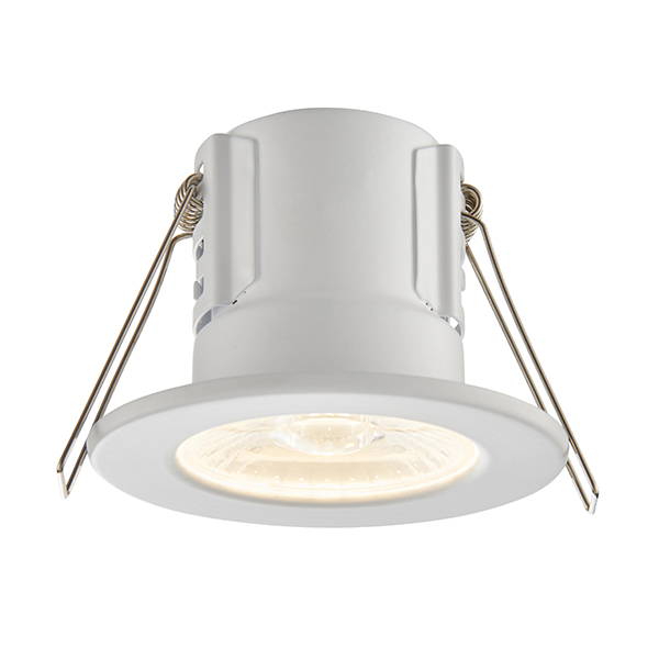 Saxby Shieldeco Ip65 Fire Rated 4w 3000k Led Dimmable