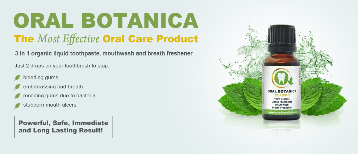 Liquid 100% Organic Toothpaste free from fluoride and other synthetic chemicals, based on essential oils, 15ml Thumbnail 2