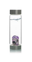 VitaJuwel New! ViA Guardian bottle (black tourmaline - amethyst - clear quartz)
