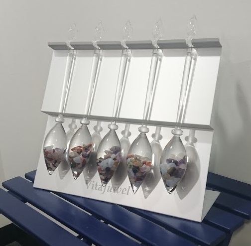 VitaJuwel Vial aluminium stand only holds up to 5 vials Thumbnail 2