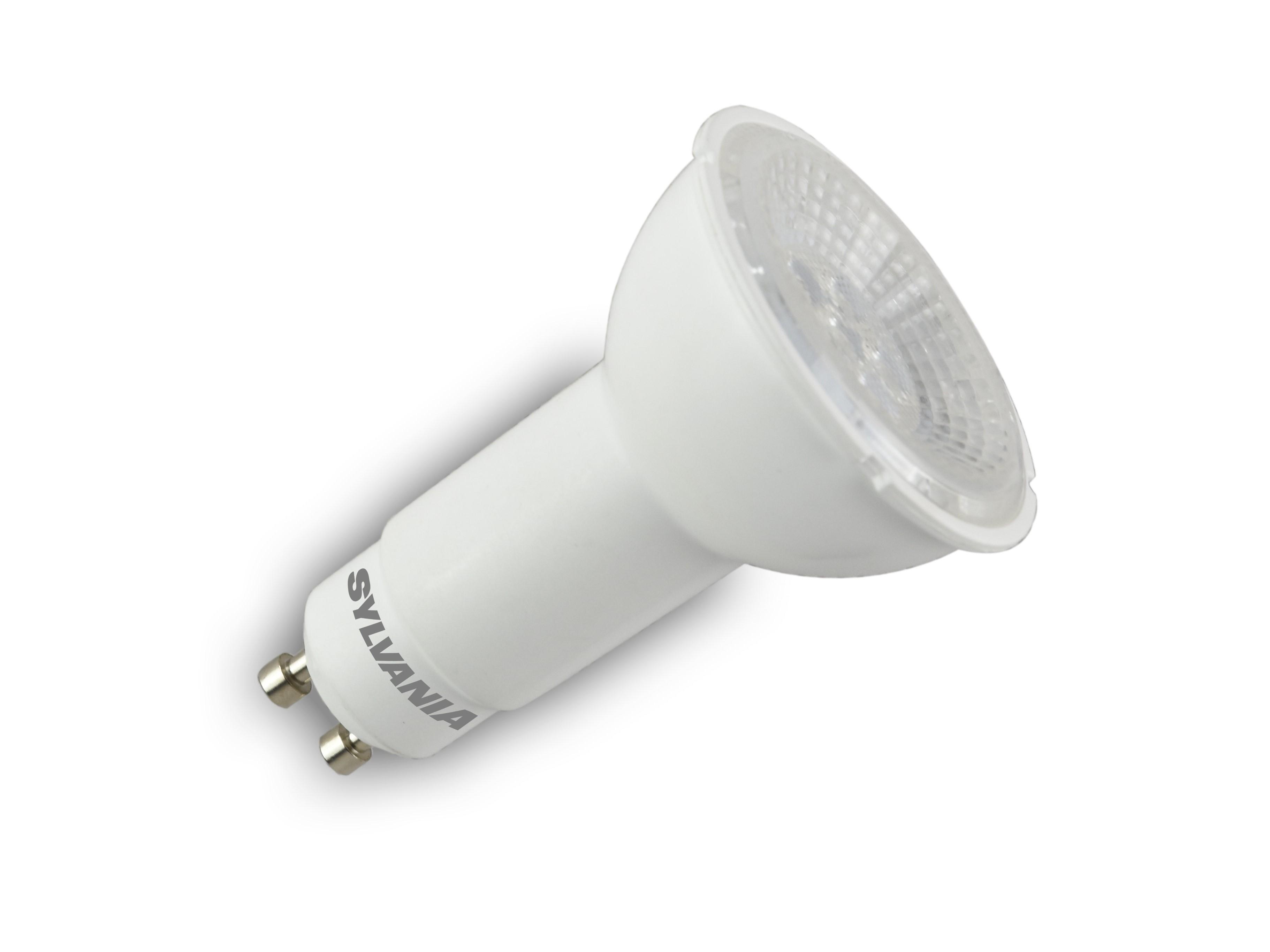 6x Sylvania RefLED dimmable 11.5W LED ES111 GU10 light bulbs replacing Hi-Spot