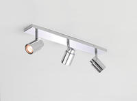 Astro Como bathroom Spotlight 6109 dimmable Triple bar 3 X 35W GU10 lamp chrome
