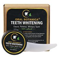 Oral Botanica 100% natural teeth whitening paste activated coconut charcoal 5g