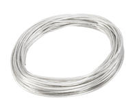 SLV Wire System white 12V Low voltage insulated copper wire 4mm per metre