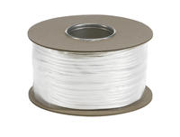 SLV Wire System white 12V Low voltage insulated copper wire 6mm per metre