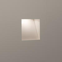 Astro Borgo Trimless 65 0977 3W LED recessed low level wall light plastered in