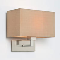 Astro Park Lane Grande Wall Light 0678/4001 Matt Nickel finish - white