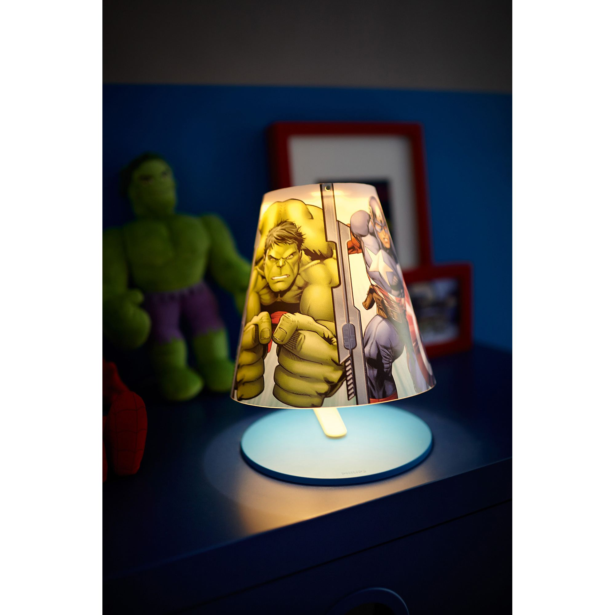 Philips Marvel Avengers LED table lamp table light 3W Thumbnail 3