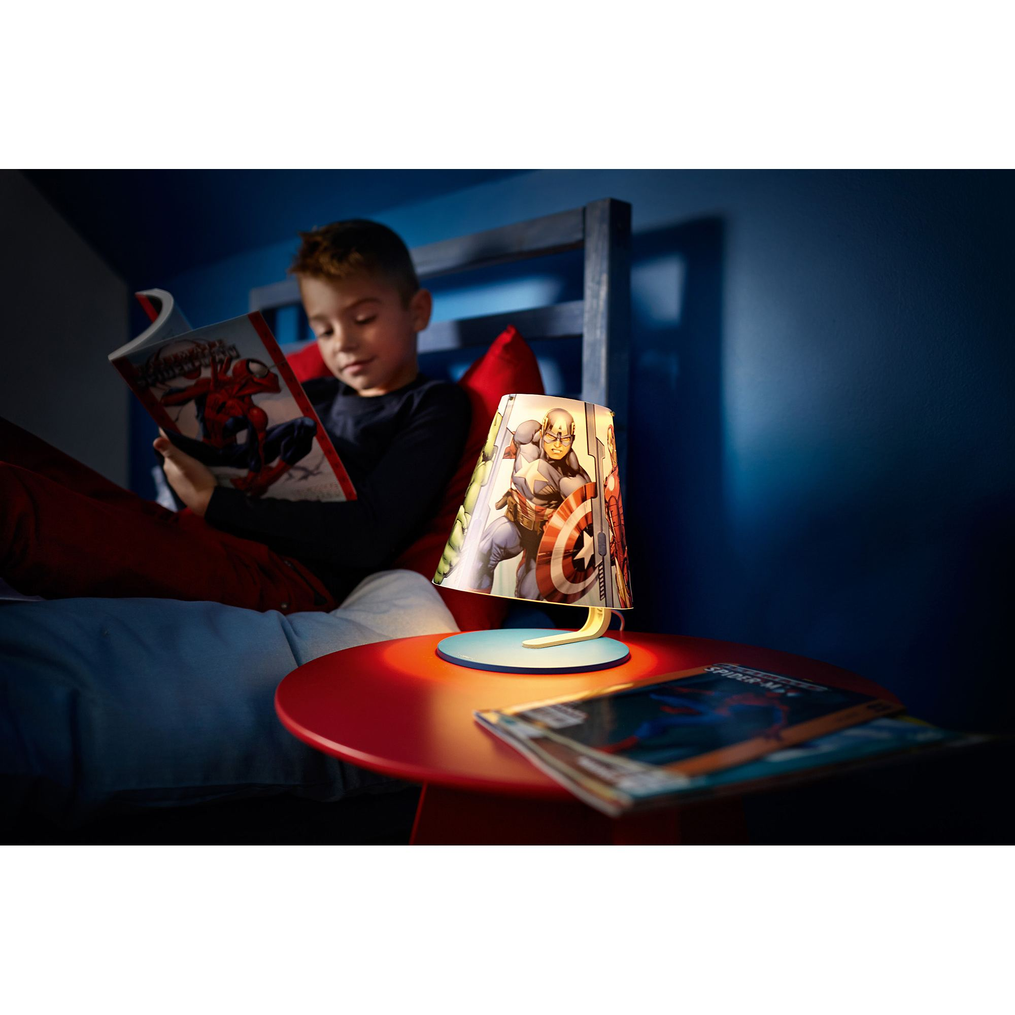 Philips Marvel Avengers LED table lamp table light 3W Thumbnail 5