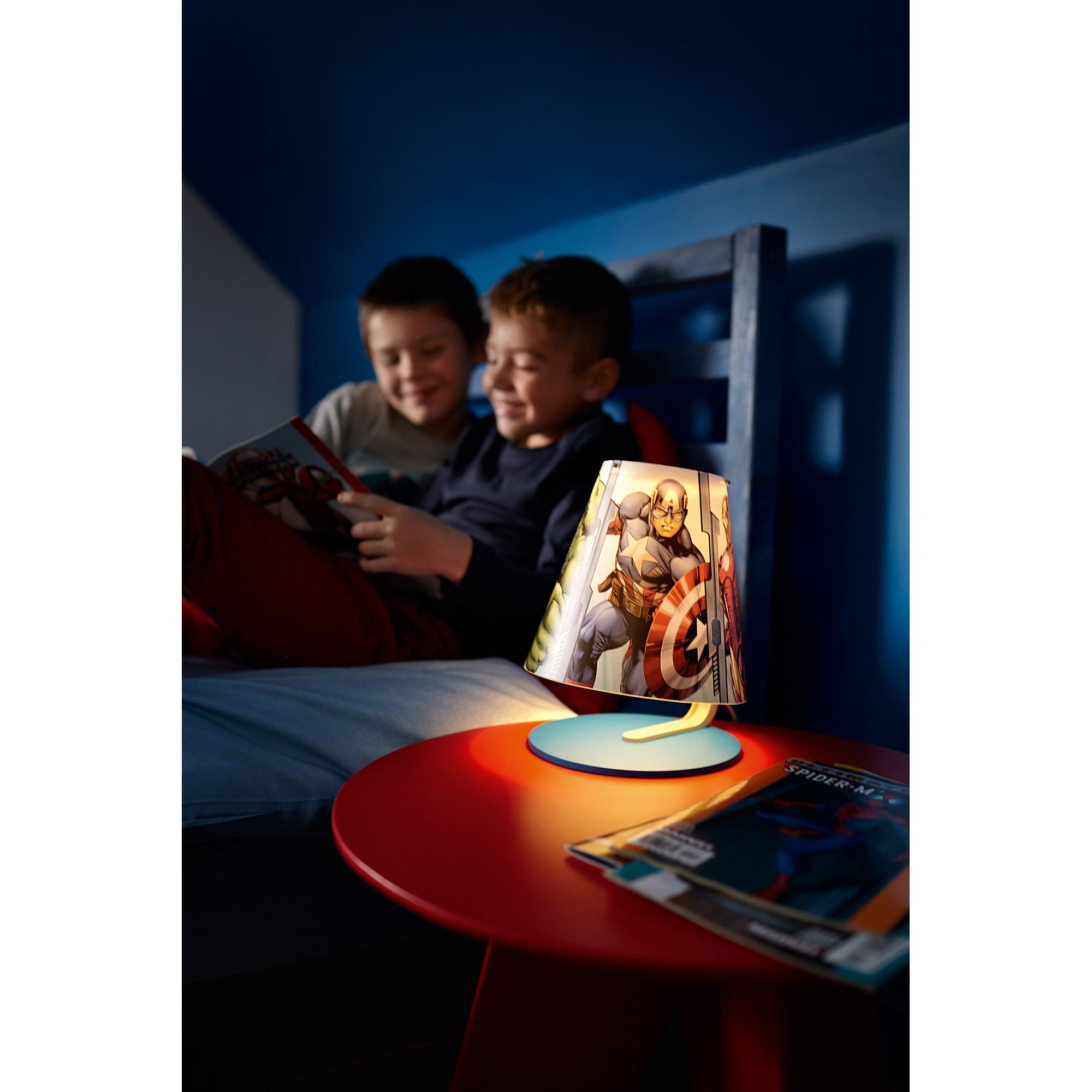 Philips Marvel Avengers LED table lamp table light 3W Thumbnail 7