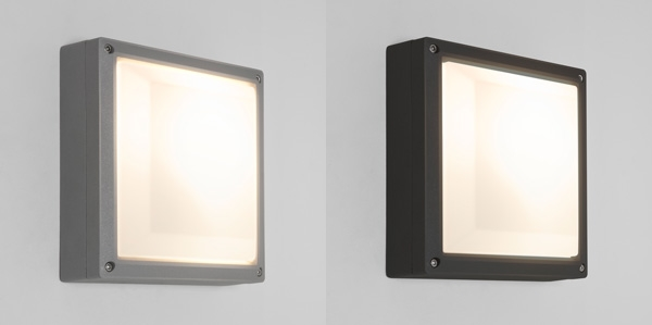 Astro arta square external exterior wall light 15w cfl e27 silver sentinel astro arta square external exterior wall light 15w cfl e27 silver black finish aloadofball Image collections