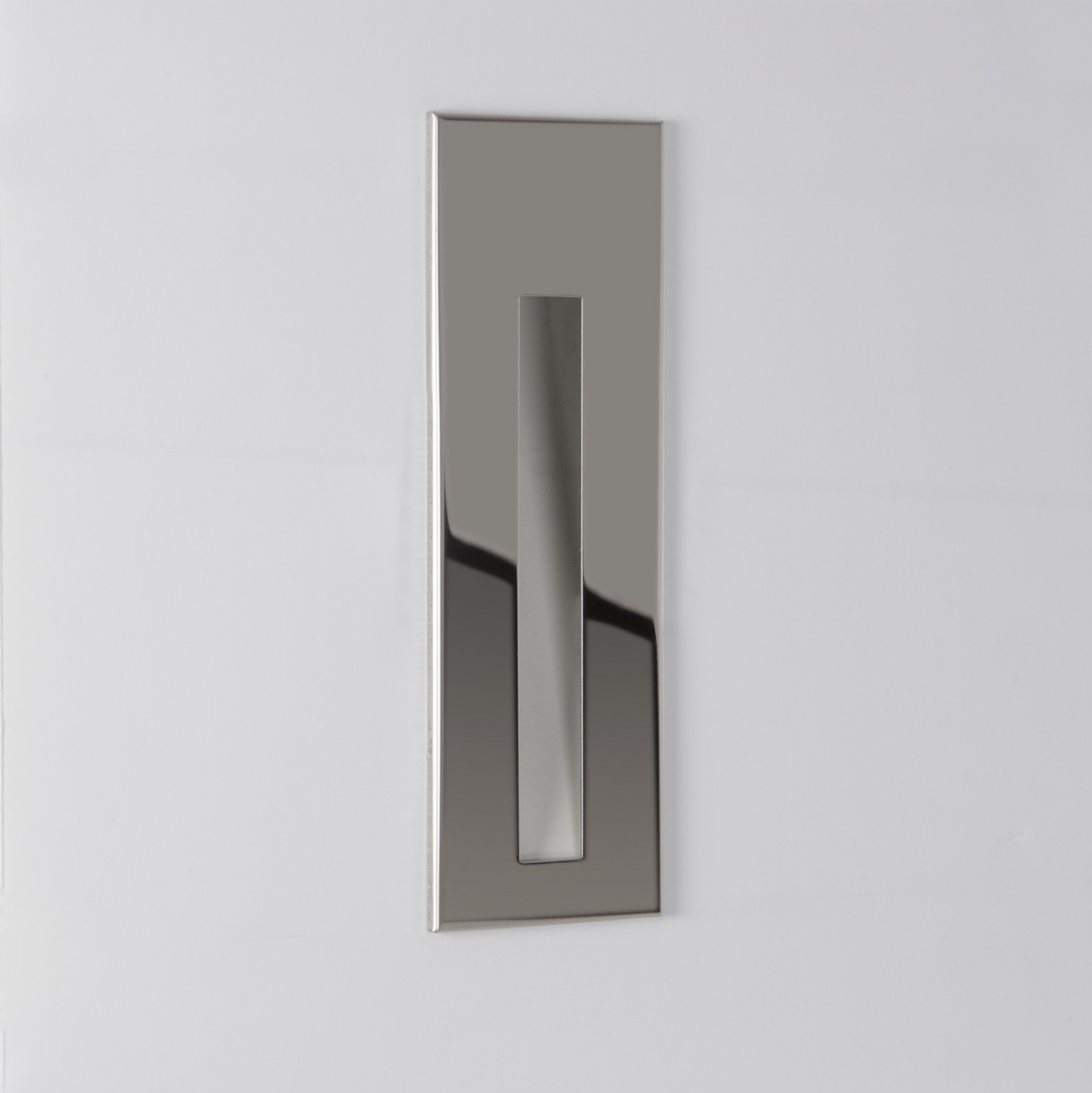 Astro Borgo 55 Bathroom Recessed 3w Led Low Level Wall Light Stainless Steel 5038856070897 Ebay