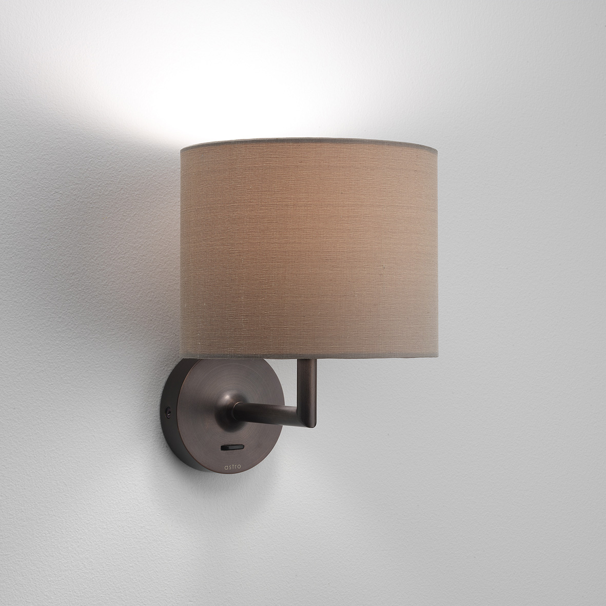Astro appa interior wall light 60w e14 lamp switched chrome matt sentinel astro appa interior wall light 60w e14 lamp switched chrome matt nickel bronze aloadofball Image collections