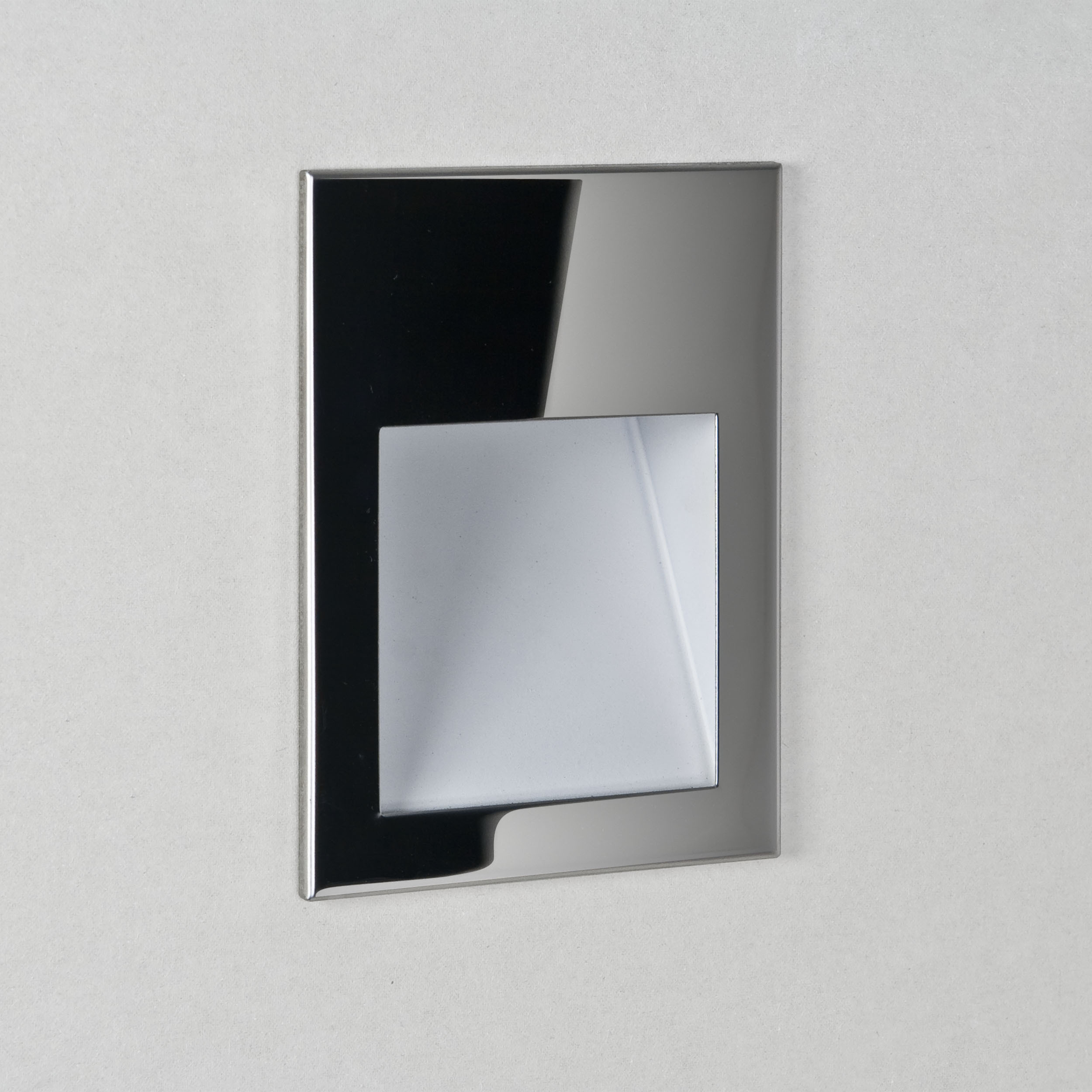 Astro Borgo 54 2700k Marker Wall Light Stainless Steel IP44 IP65 Dimmable