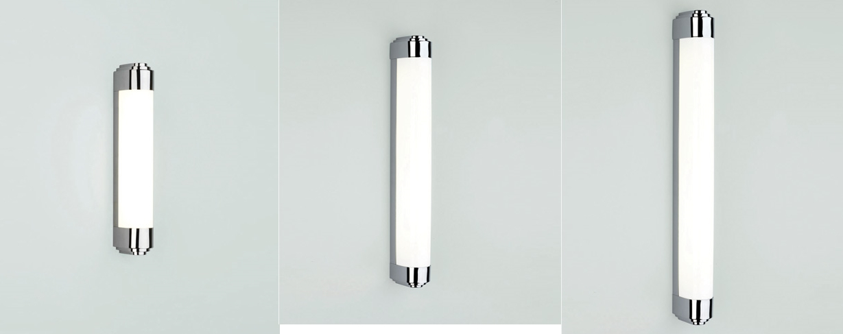 Bathroom Lights Ip44 astro belgravia led fluorescent bathroom wall light ip44 polished