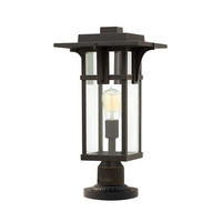 Hinkely Lighting Manhattan Pedestal 1 x 100W E27 220-240v 50hz IP44 Class I