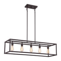 Quoizel New Harbor Island Chandelier 5 x 60W E27 220-240v 50hz Class I