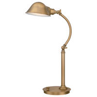 Quoizel Thompson Desk Lamp Aged Brass 7W LED (lamps included) 220-240v 50hz