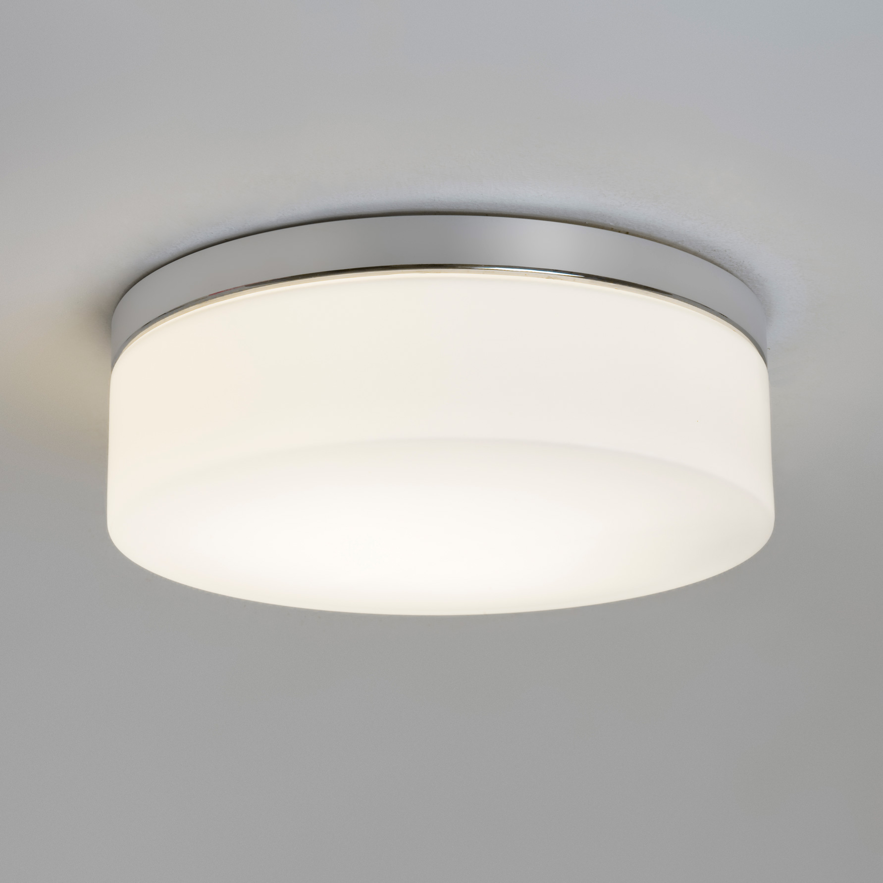 ASTRO Sabina round circular IP44 bathroom ceiling light chrome glass 60W E27 & ASTRO Sabina round circular IP44 bathroom ceiling light chrome ... azcodes.com