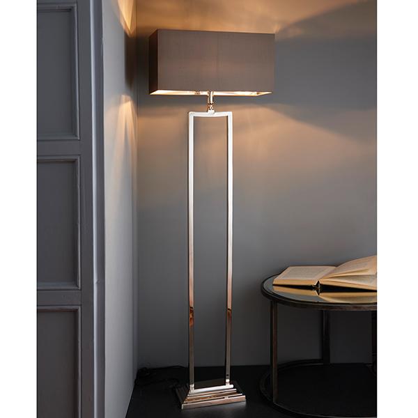Endon Cassier Floor Lamp Base Modern Geometric Design 60w