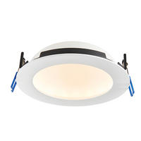 Saxby OrbitalPro Indoor Recessed Fixed Light Matt White IP65 15W (SMD 2835) CCT