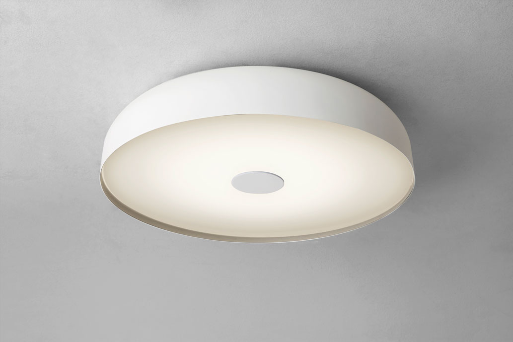 Astro Mantova IP44 round domed LED bathroom ceiling light 17.7W LED Thumbnail 1