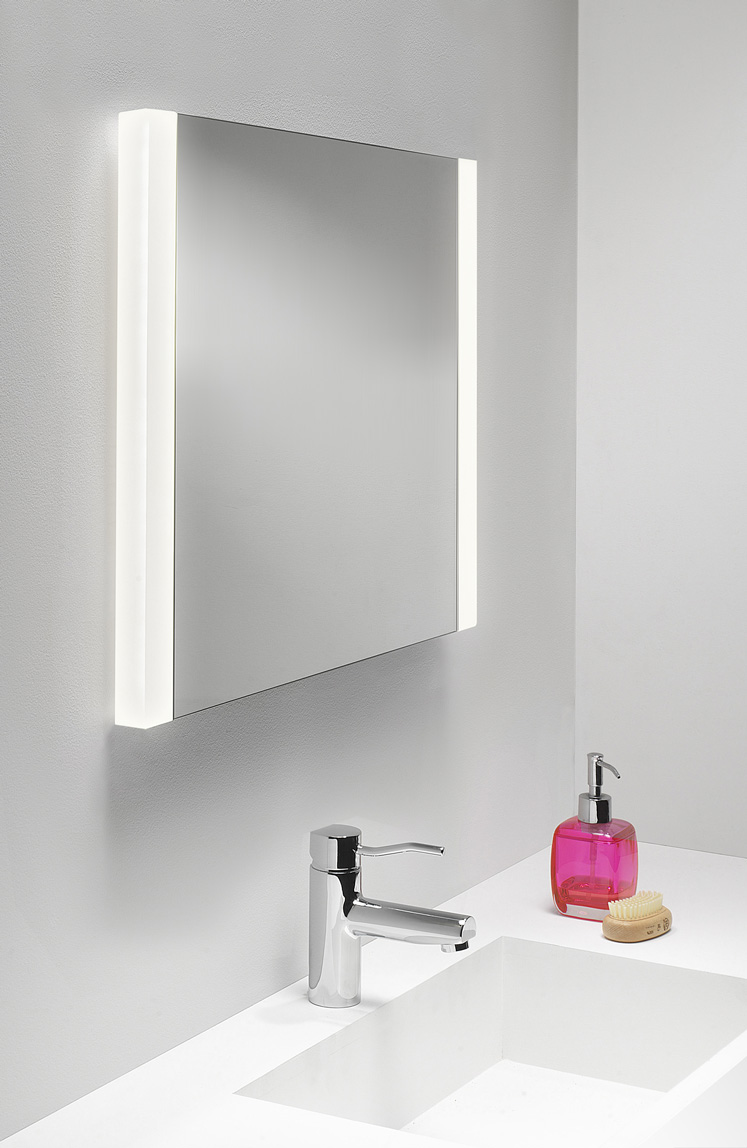 Astro Calabria 0898 illuminated bathroom mirror hand wave switch demister ECO Thumbnail 1