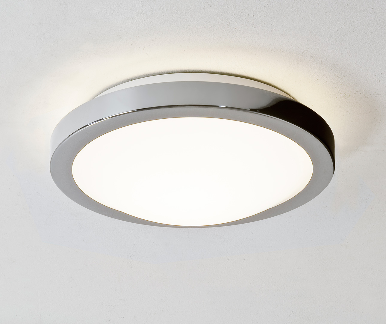ASTRO Mariner 0270 round bathroom ceiling light 60W E127 lamp IP44 Chrome finish Thumbnail 1