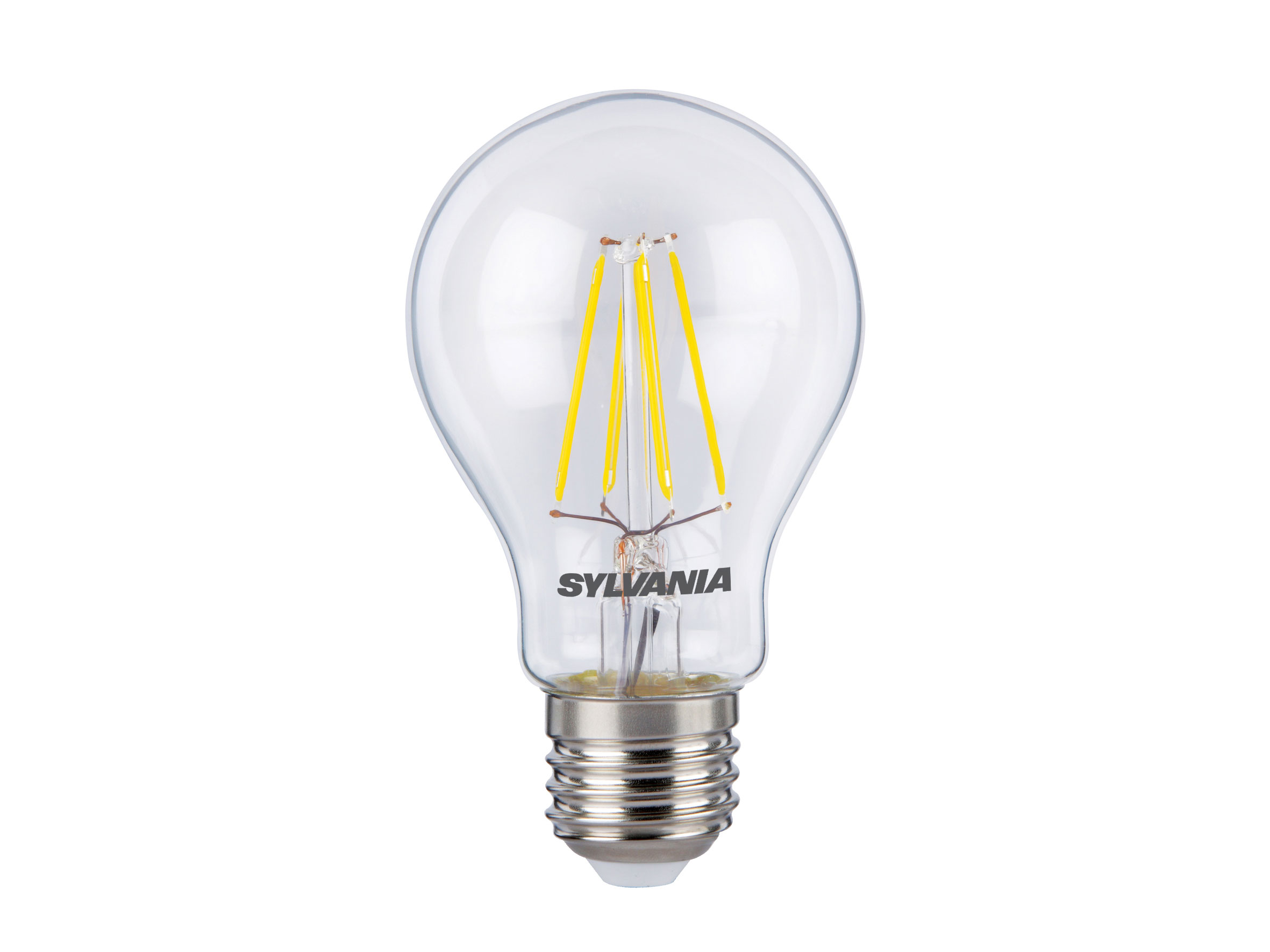 Sylvania 5W LED GLS traditional light bulb E27 ES warm white 2700K non-dimmable