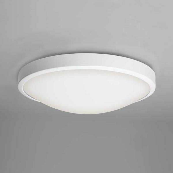 Astro Osaka low energy round bathroom IP44 ceiling wall light white 28W 2D