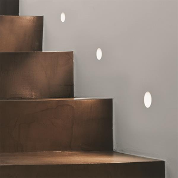 Details About Astro Leros Trimless 1w Led Recessed Low Level Wall Step Lights