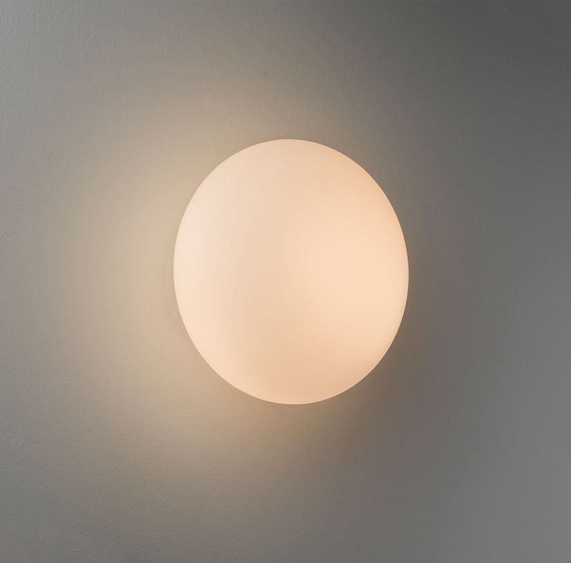 Astro Zeppo egg round wall bathroom halogen wall light 33W G9 IP44 chrome Thumbnail 2