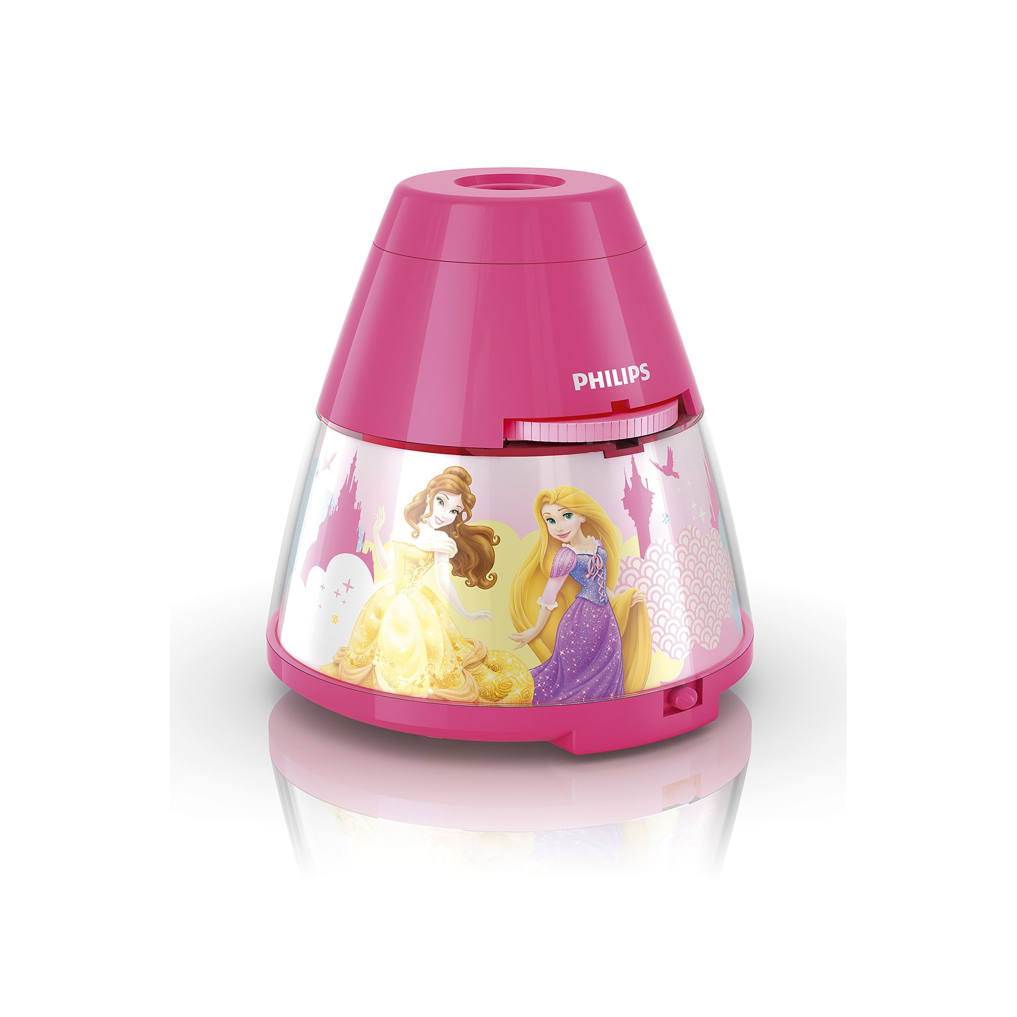 Philips Disney Princess children's LED night light projector portable battery Thumbnail 5