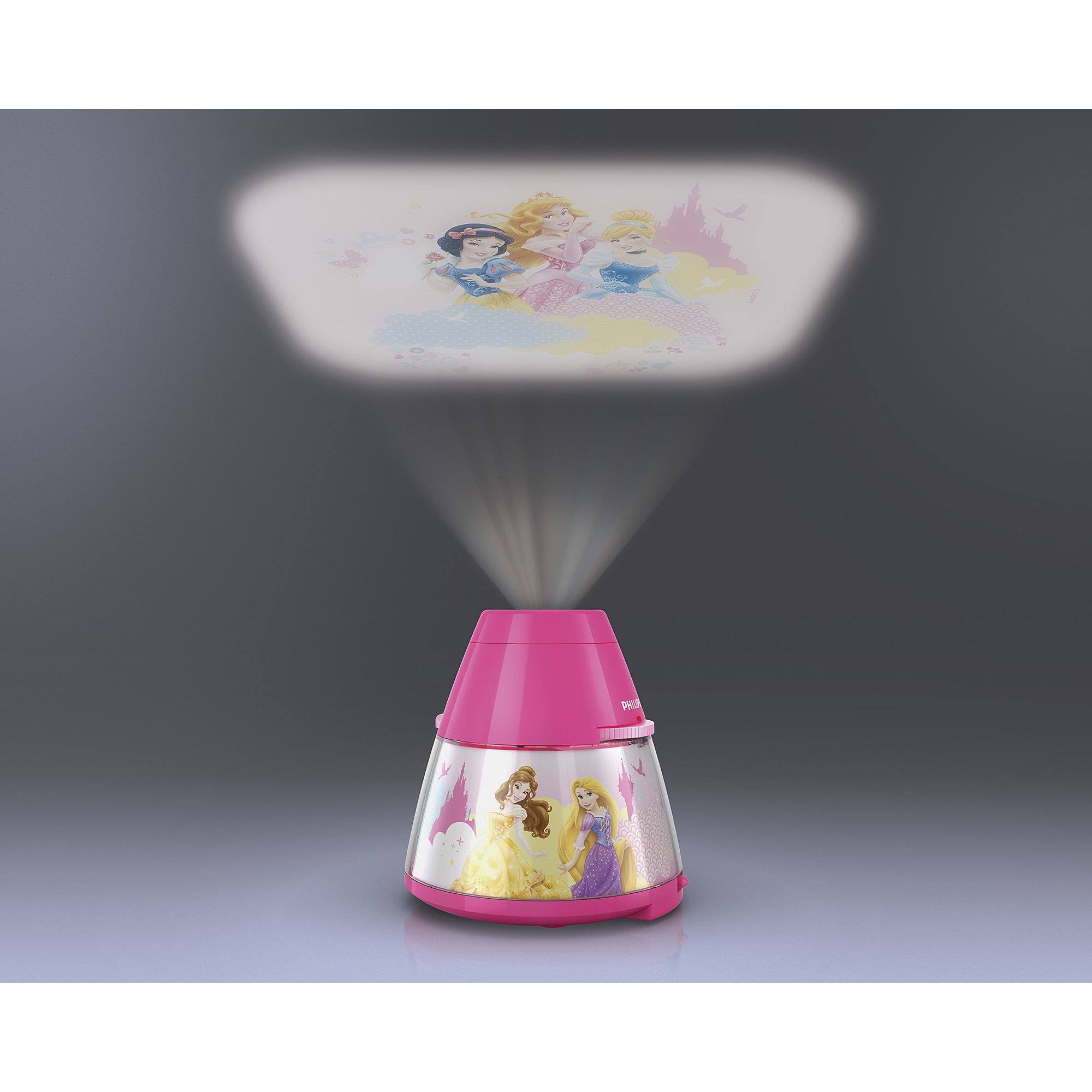 Philips Disney Princess children's LED night light projector portable battery Thumbnail 6