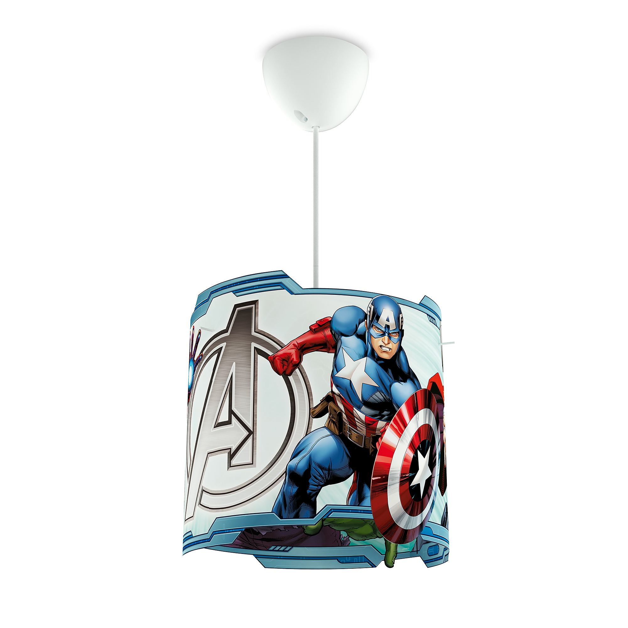 Marvel Avengers Ceiling Pendant Hanging Light Shade Lamp Shade Only Max 23w Liminaires