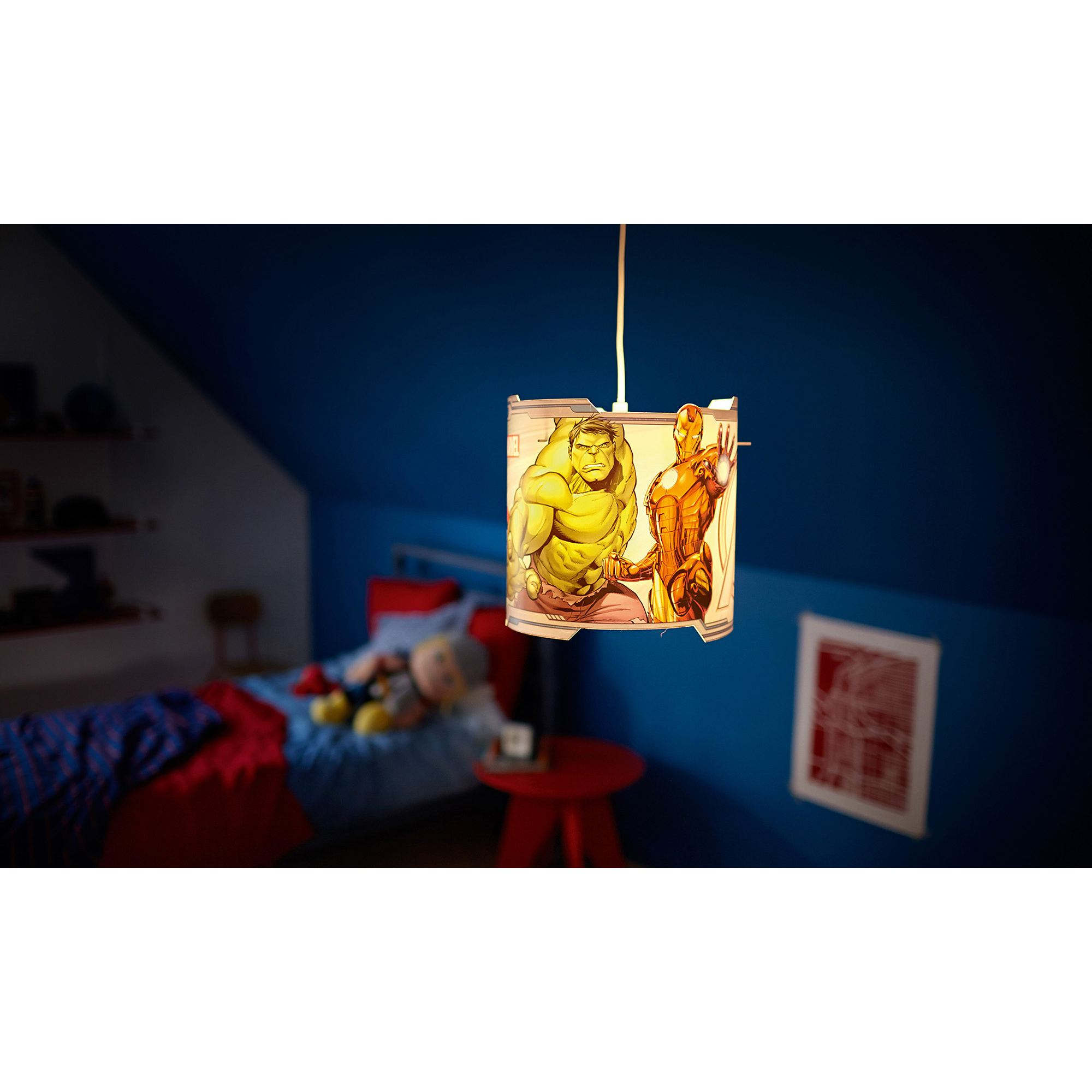 Marvel Avengers Ceiling Pendant Hanging Light Shade Lamp