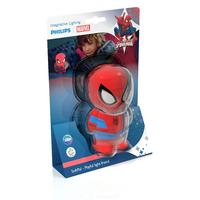 Philips Marvel Spiderman children's LED sensor night light battery blue