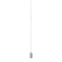 Fitu pendant E27 screw base lampholder with 2.5m round fabric cable max. 60W