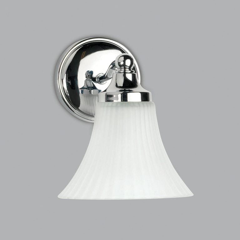 ASTRO Nena 0506 bell shaped bathroom wall light 1 x 40W G9 IP44 Polished chrome Thumbnail 1