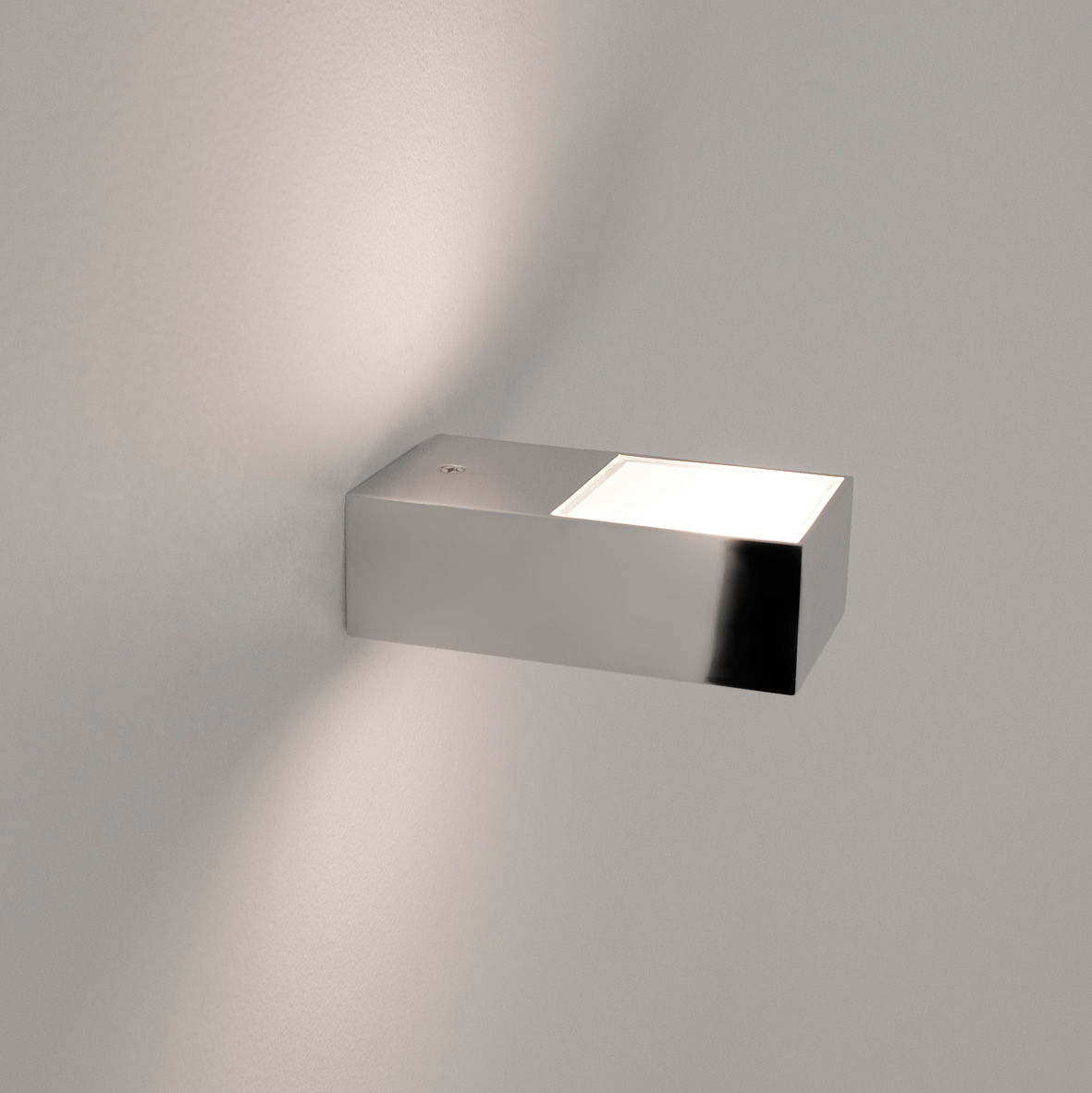 ASTRO Kappa 0672 rectangular bathroom wall light 1 x 25W G9 IP44 chrome finish Thumbnail 2