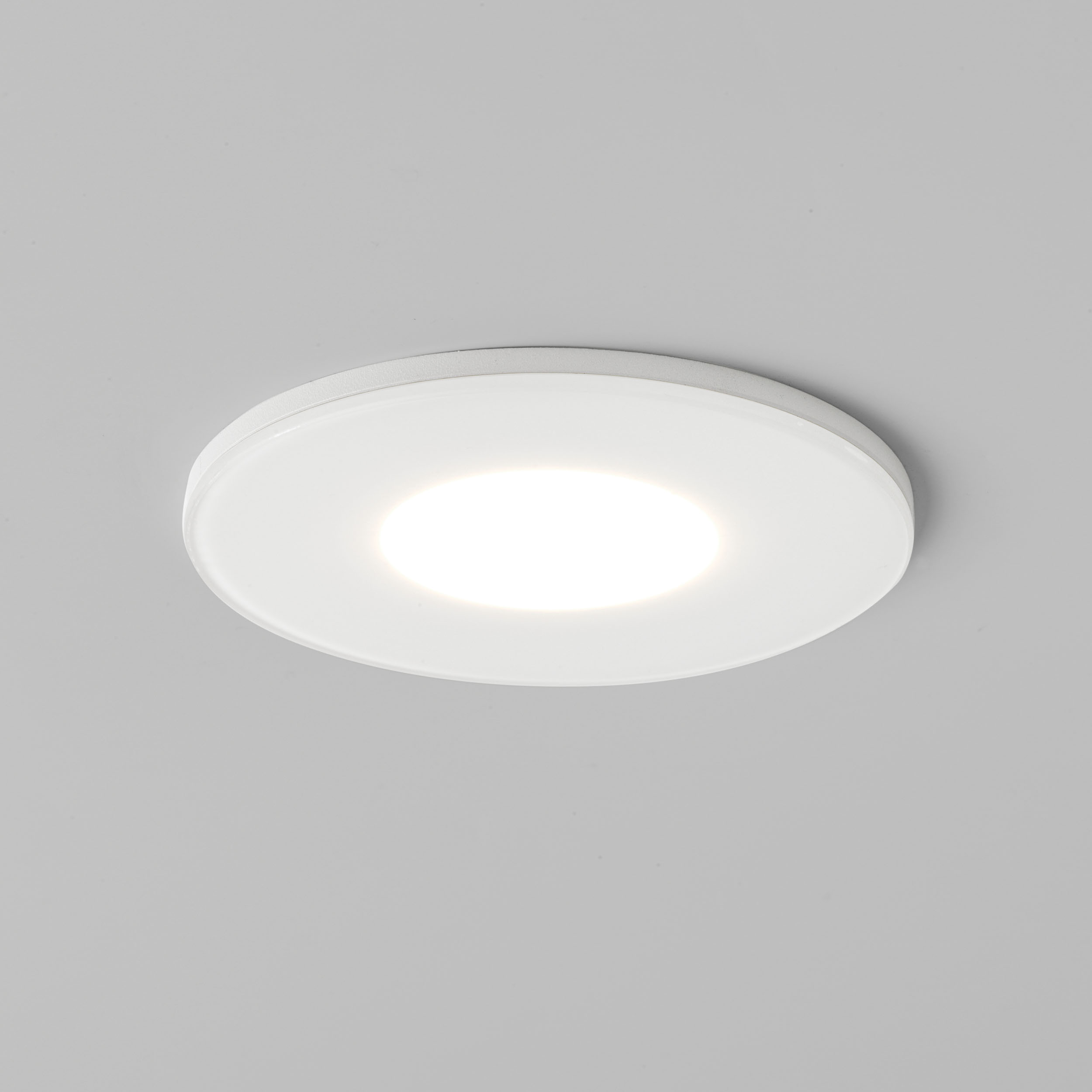 LED bathroom downlights fixed Astro Mayfair shower IP65 7.4W white 2700K Thumbnail 1