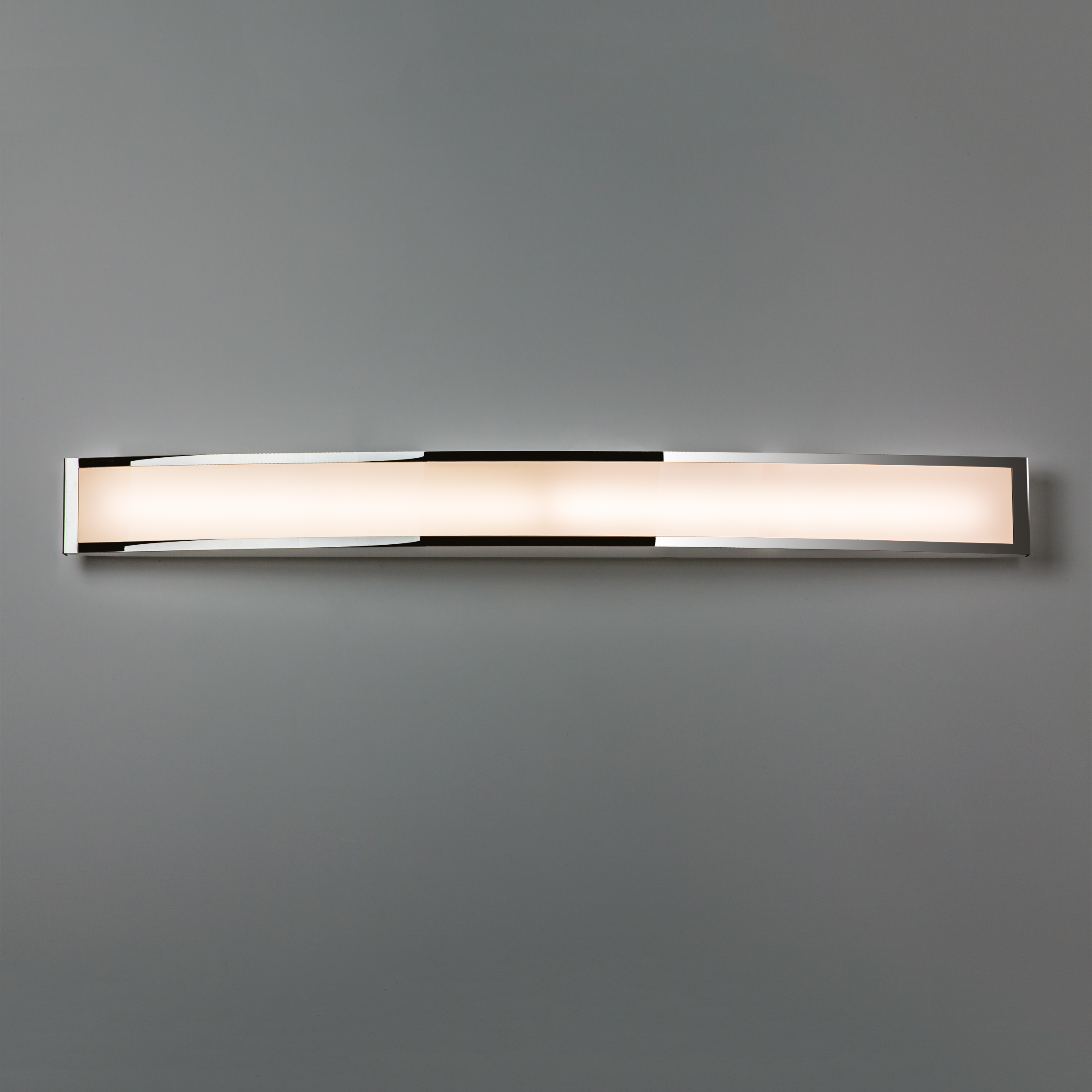 Astro Chord  bathroom warm white LED over mirror wall light 7.2W Polished chrome Thumbnail 4