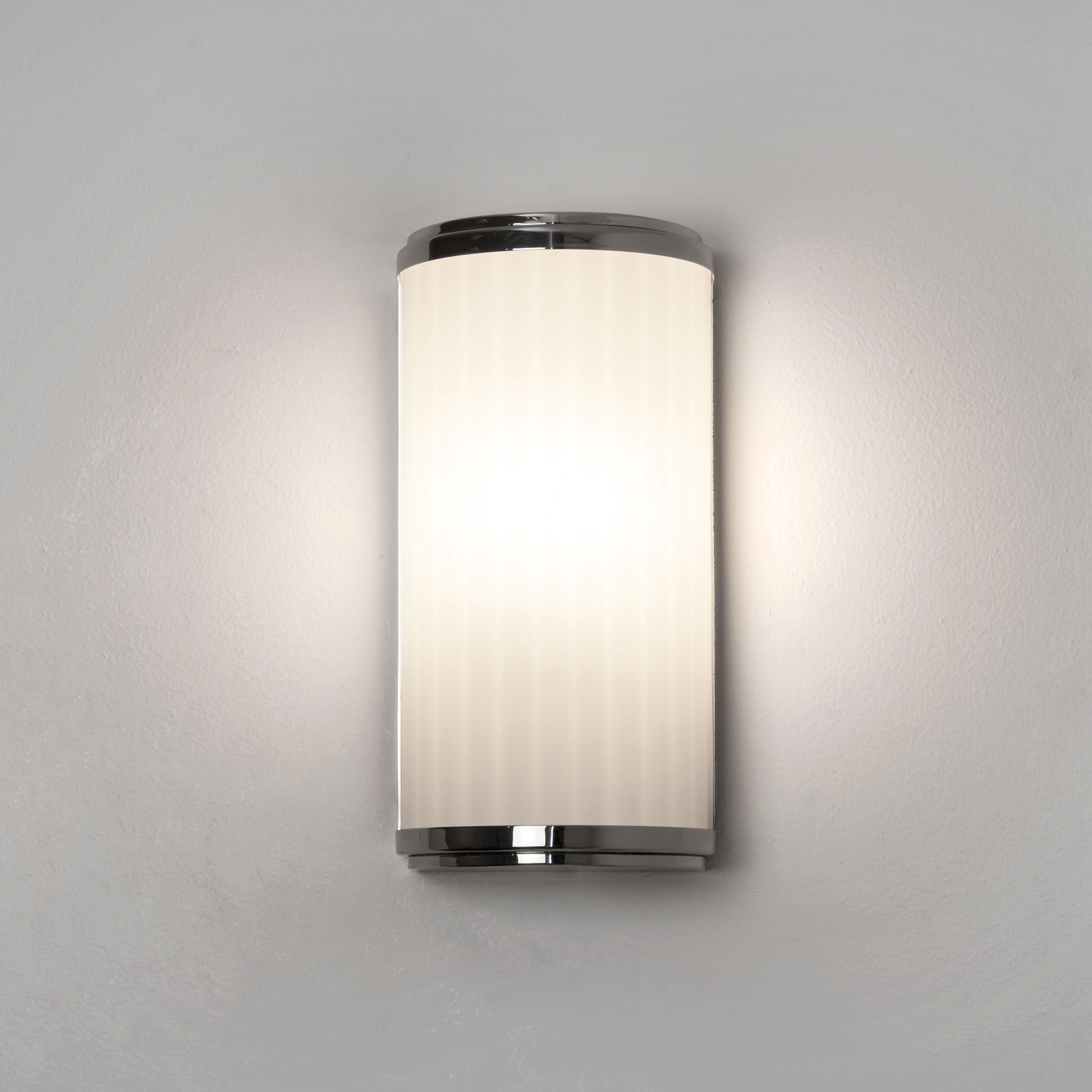 ASTRO MONZA 250 3.2W LED bathroom IP44 wall mirror light polished chrome glass Thumbnail 1