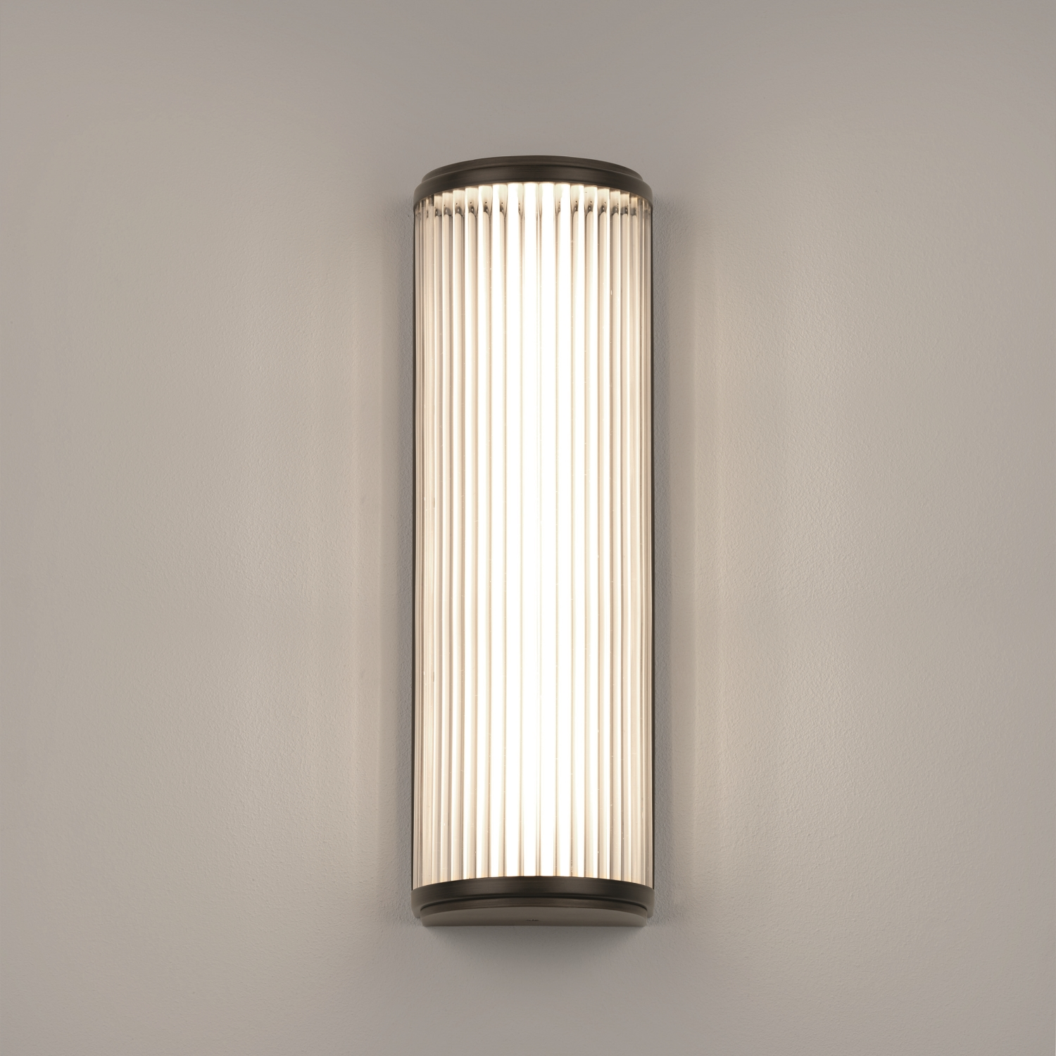 ASTRO VERSAILLES 400 6.4W LED bathroom wall mirror light bronze effect glass
